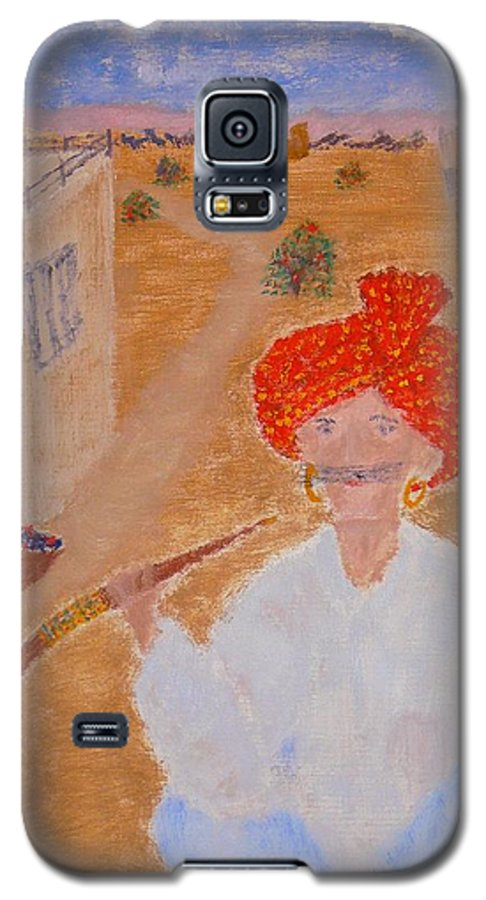 People Galaxy S5 Case featuring the painting Tau by R B