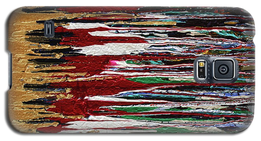 Fusionart Galaxy S5 Case featuring the painting Tears Of The Sun by Ralph White