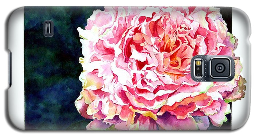 Peony Galaxy S5 Case featuring the painting The Ant's Castle by Linda Marie Carroll