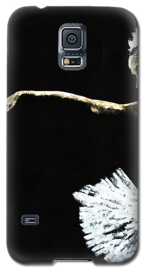 Ballet Galaxy S5 Case featuring the painting The Art Of Grace by Richard Young