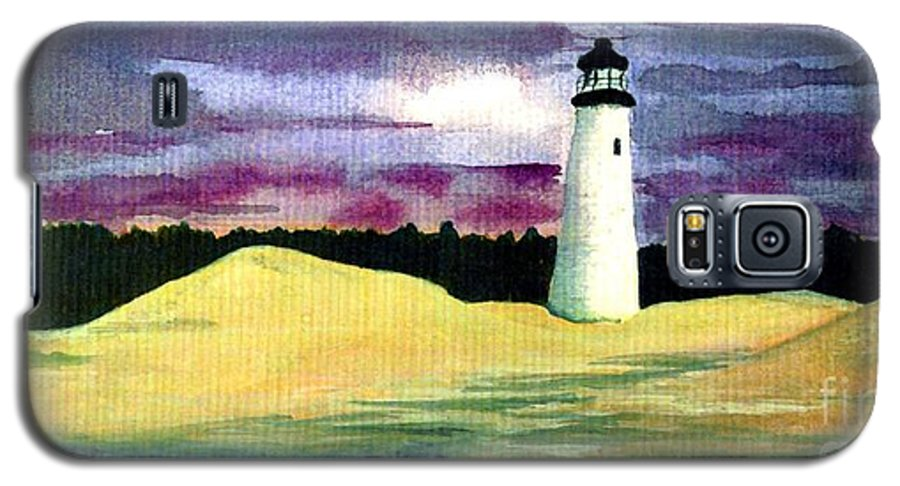Fine Art Galaxy S5 Case featuring the painting The Beacon by Patricia Griffin Brett