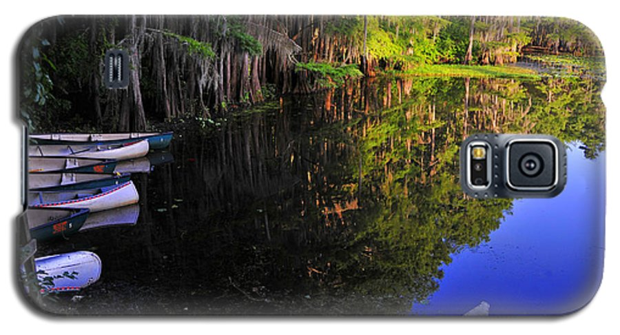 Skip Hunt Galaxy S5 Case featuring the photograph The Black Lagoon by Skip Hunt