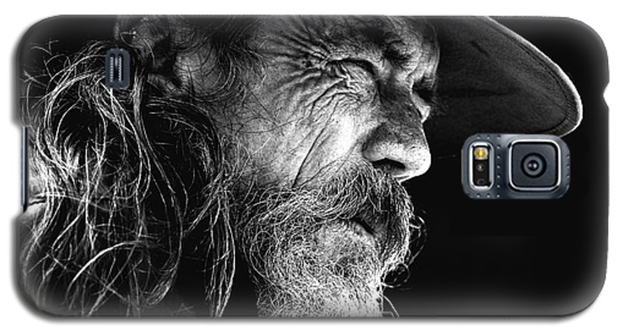Australian Bushman Hat Galaxy S5 Case featuring the photograph The Bushman by Sheila Smart Fine Art Photography
