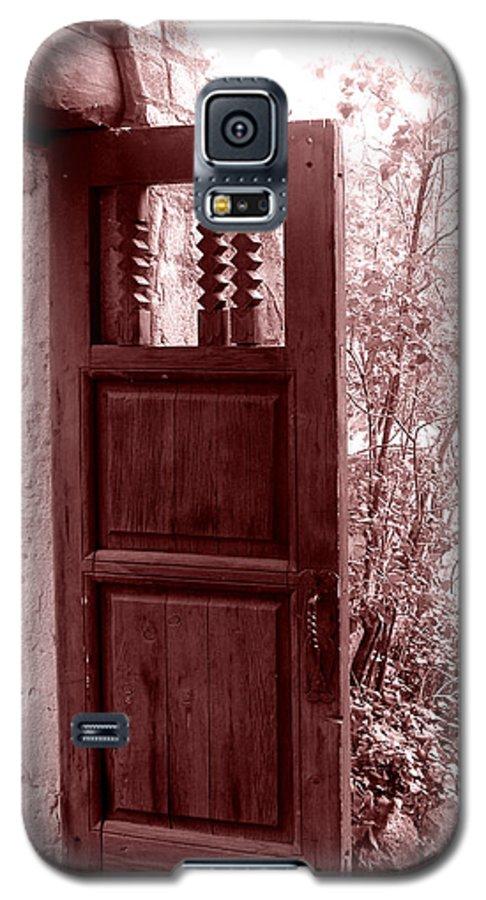 Door Galaxy S5 Case featuring the photograph The Door by Wayne Potrafka