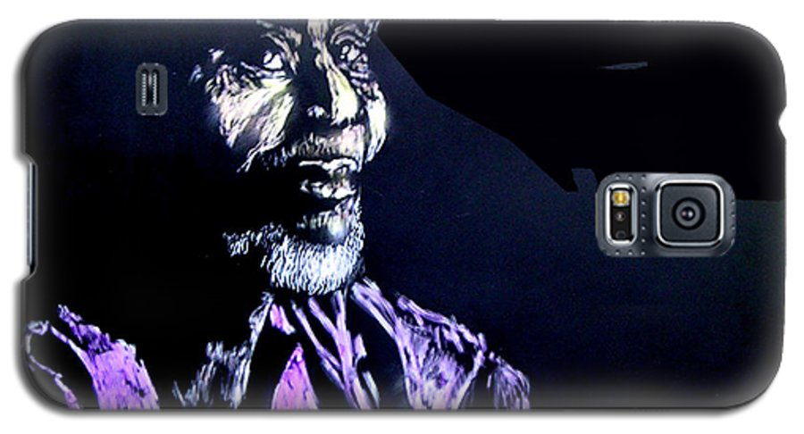 Galaxy S5 Case featuring the mixed media The Elder by Chester Elmore