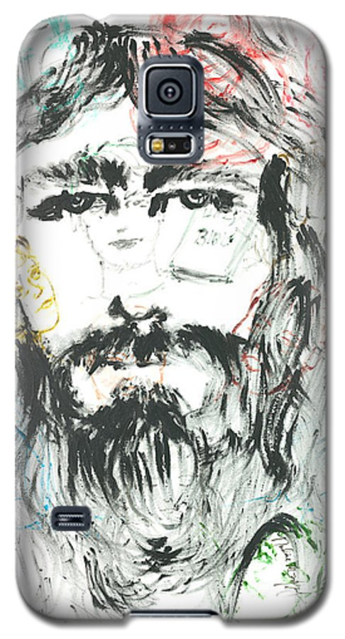 Jesus Galaxy S5 Case featuring the painting The Emotions Of Jesus by Nadine Rippelmeyer