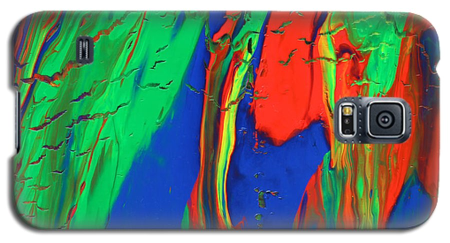 Fusionart Galaxy S5 Case featuring the painting The Escape by Ralph White