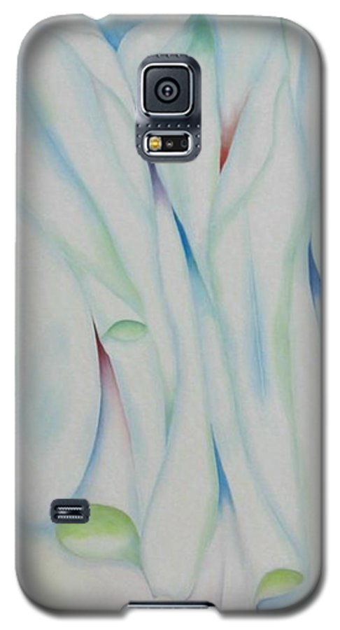 Oil Galaxy S5 Case featuring the painting The Function by Peggy Guichu