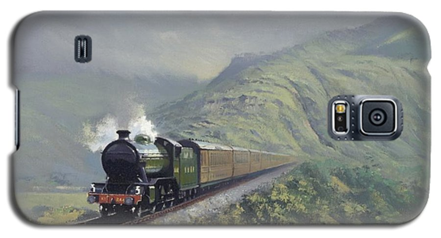 Steam Galaxy S5 Case featuring the painting the Great Marquess by Richard Picton