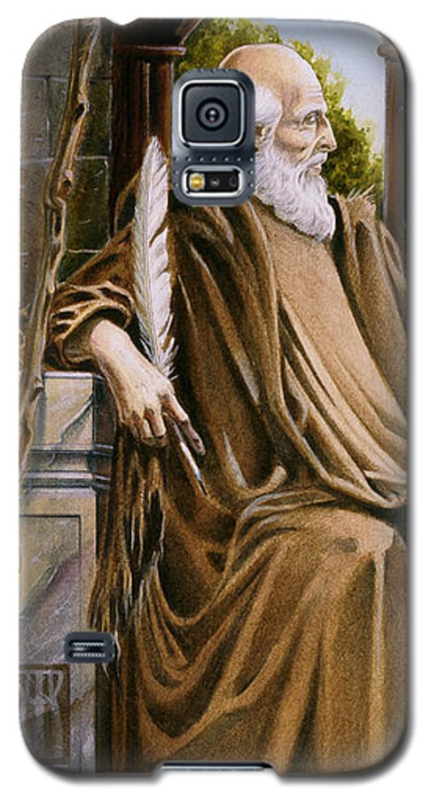 Wise Man Galaxy S5 Case featuring the painting The Hermit Nascien by Melissa A Benson