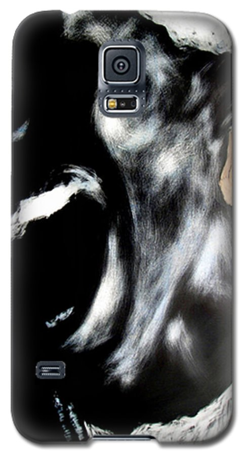 Galaxy S5 Case featuring the mixed media The Initiate by Chester Elmore