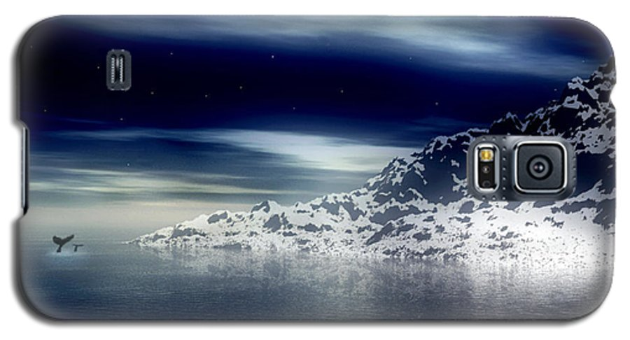 Arctic Galaxy S5 Case featuring the digital art The Journey Together by Kenneth Krolikowski