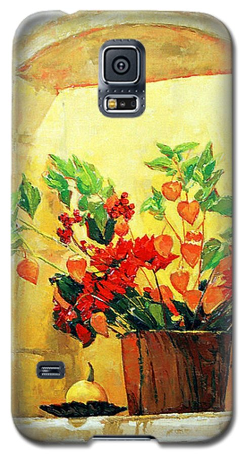 Still Life Galaxy S5 Case featuring the painting The Light by Iliyan Bozhanov