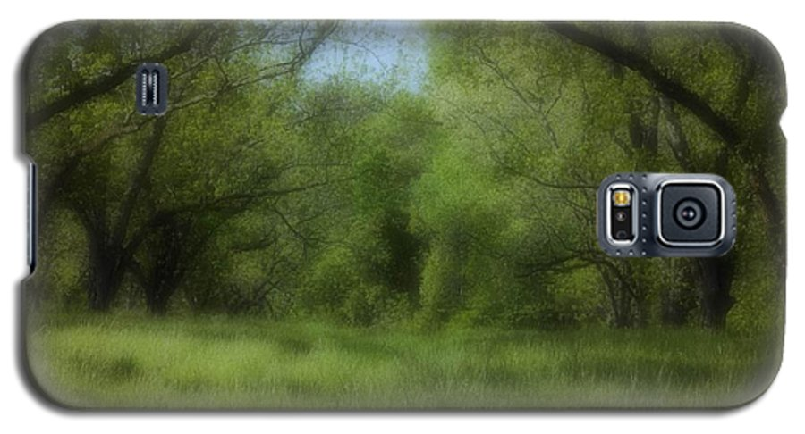 Landscape Galaxy S5 Case featuring the photograph The Meadow by Ayesha Lakes