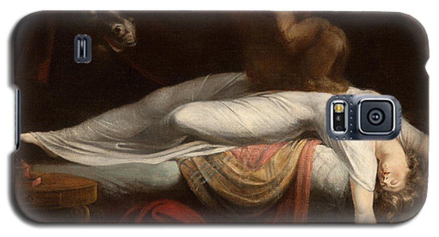 The Galaxy S5 Case featuring the painting The Nightmare by Henry Fuseli