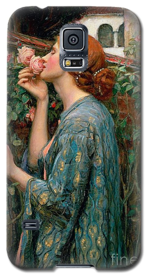 The Galaxy S5 Case featuring the painting The Soul Of The Rose by John William Waterhouse