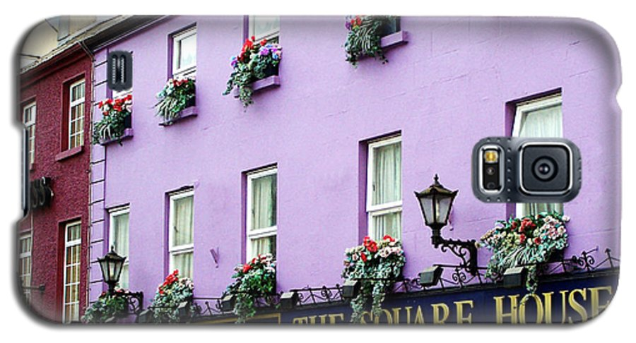 Irish Galaxy S5 Case featuring the photograph The Square House Athlone Ireland by Teresa Mucha