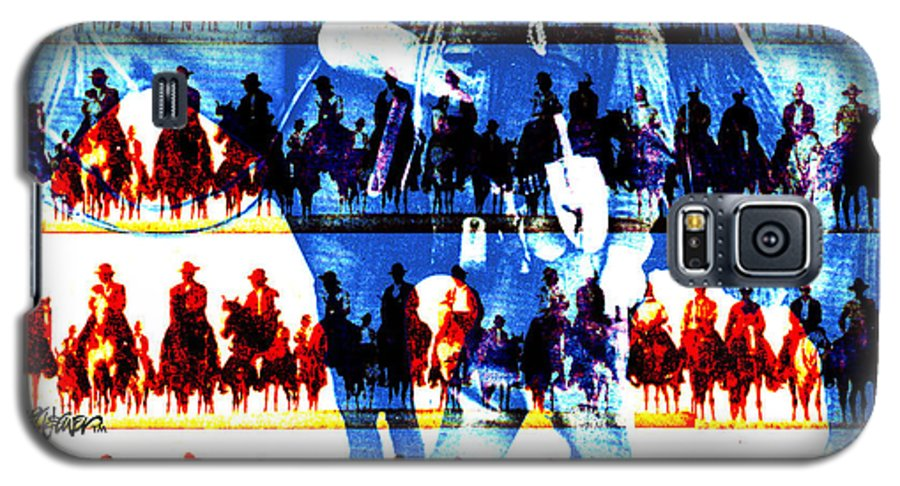 Cowboys Galaxy S5 Case featuring the digital art The Tenderfoot by Seth Weaver