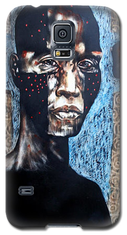 Religion Galaxy S5 Case featuring the mixed media The Zelot by Chester Elmore
