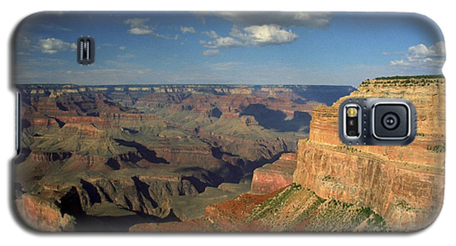Grand Canyon Galaxy S5 Case featuring the photograph This Is My Father's World by Kathy McClure