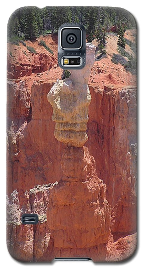 Bryce Galaxy S5 Case featuring the photograph Thor's Hammer by Louise Magno