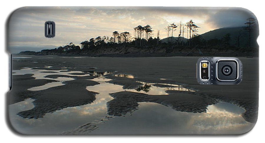 Oregon Galaxy S5 Case featuring the photograph Tidepools At Dawn by Idaho Scenic Images Linda Lantzy