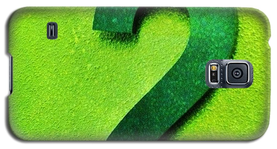 Greenlicious Galaxy S5 Case featuring the photograph Today It Is #emerald For #altexpo. So by Merel Kaagman