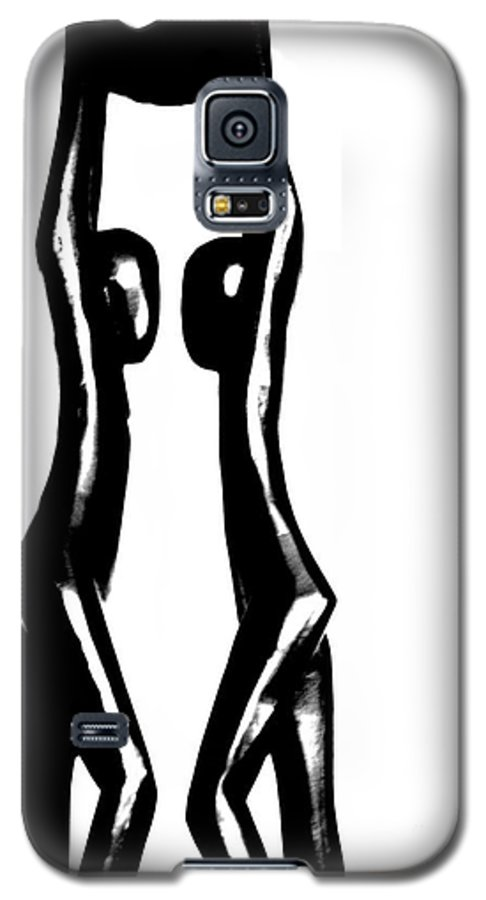 Couple Galaxy S5 Case featuring the photograph Together by Amanda Barcon
