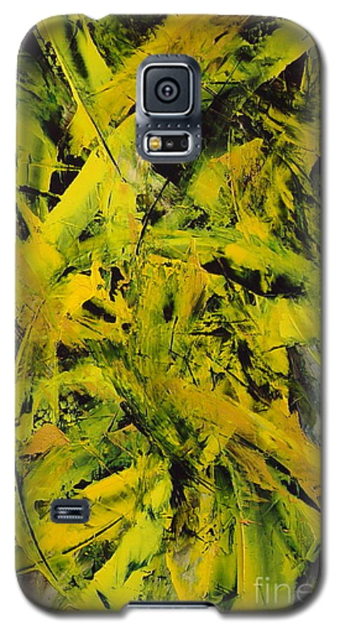 Abstract Galaxy S5 Case featuring the painting Transitions Vi by Dean Triolo