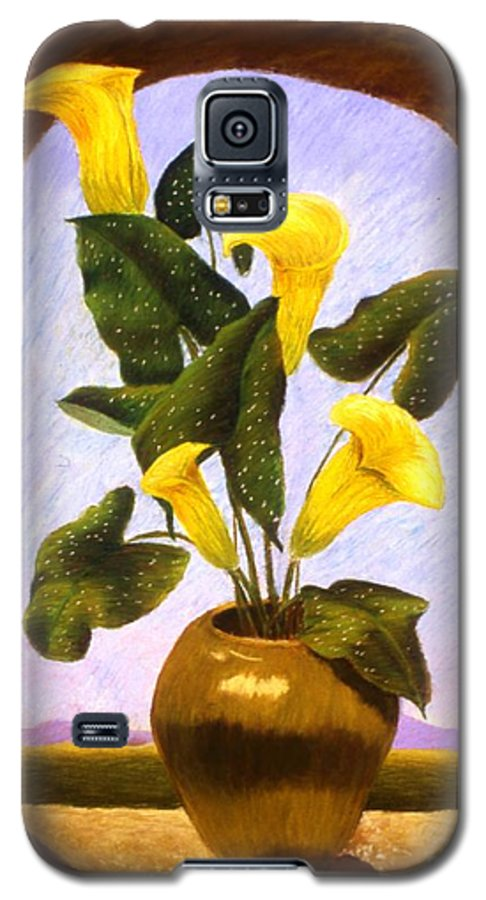 Still Life Galaxy S5 Case featuring the painting Tribute To The Dutch Masters by Mary Erbert
