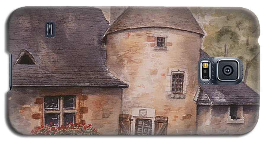Watercolor Galaxy S5 Case featuring the painting Turenne by Mary Ellen Mueller Legault