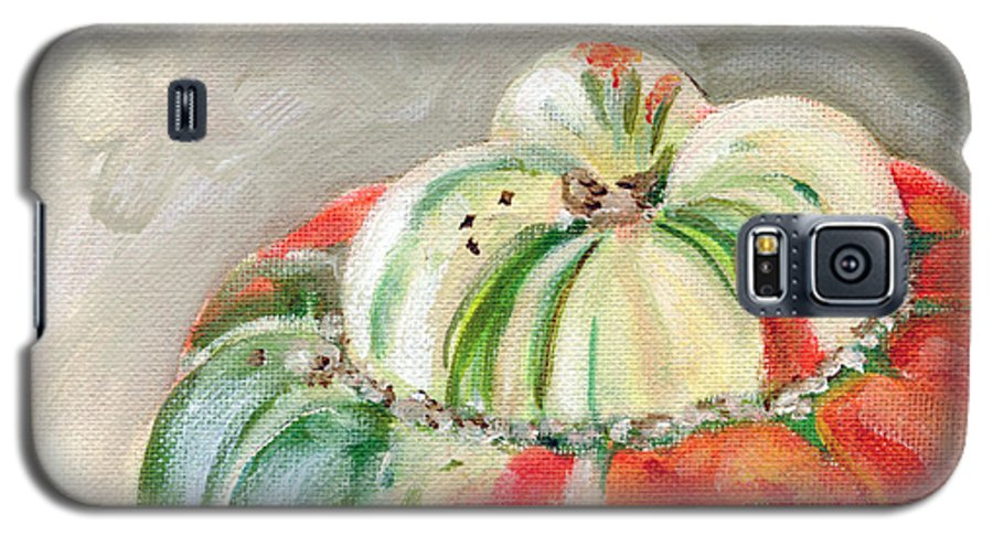Still-life Galaxy S5 Case featuring the painting Turks Turban by Sarah Lynch
