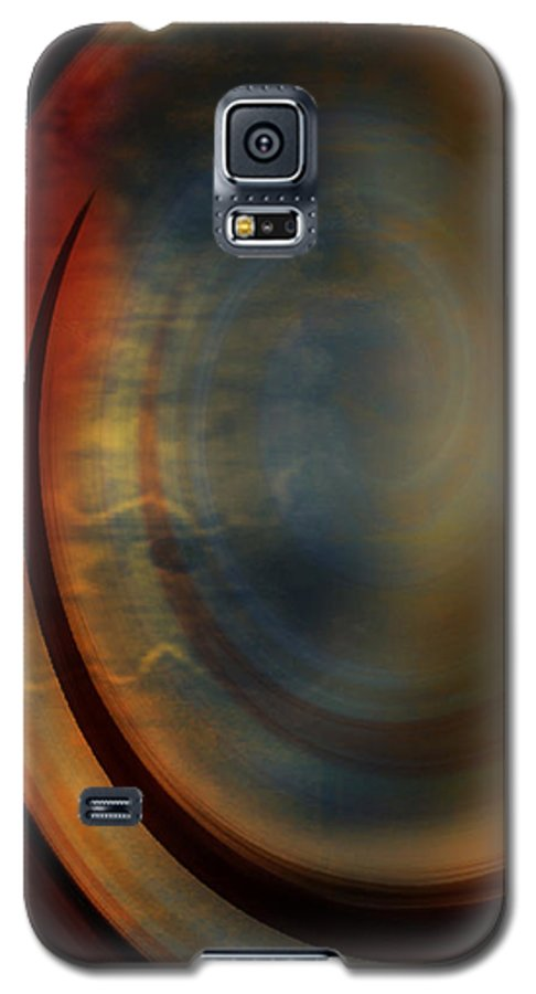 Tuscan 2 Galaxy S5 Case featuring the painting Tuscan 2 by Jill English