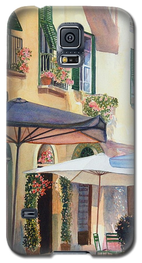 Tuscan Galaxy S5 Case featuring the painting Tuscan Sunlight by Ann Cockerill