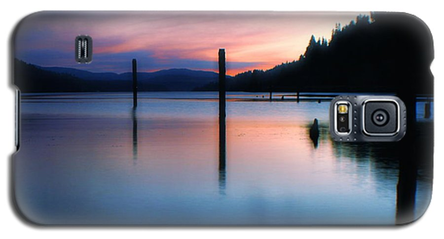Dusk Galaxy S5 Case featuring the photograph Twilight by Idaho Scenic Images Linda Lantzy