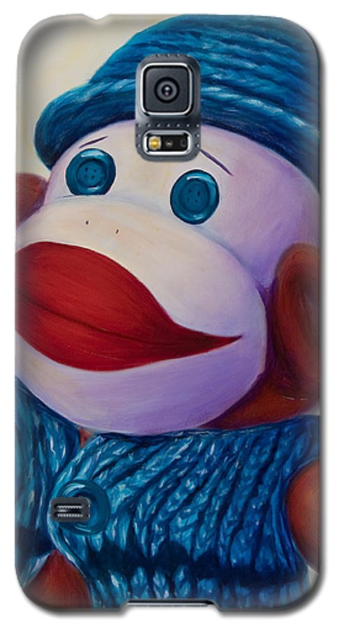 Children Galaxy S5 Case featuring the painting Uncle Frank by Shannon Grissom