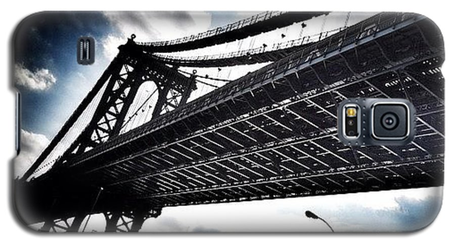 Galaxy S5 Case featuring the photograph Under The Bridge by Christopher Leon