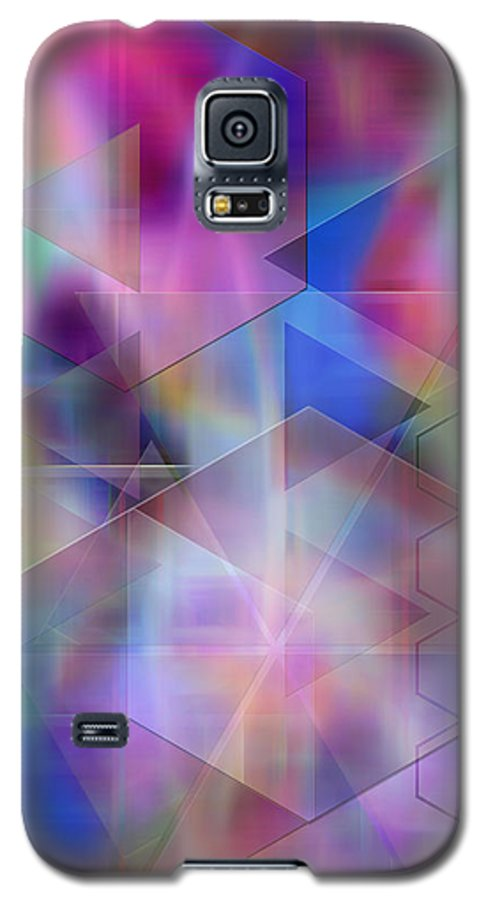 Usonian Dreams Galaxy S5 Case featuring the digital art Usonian Dreams by John Beck