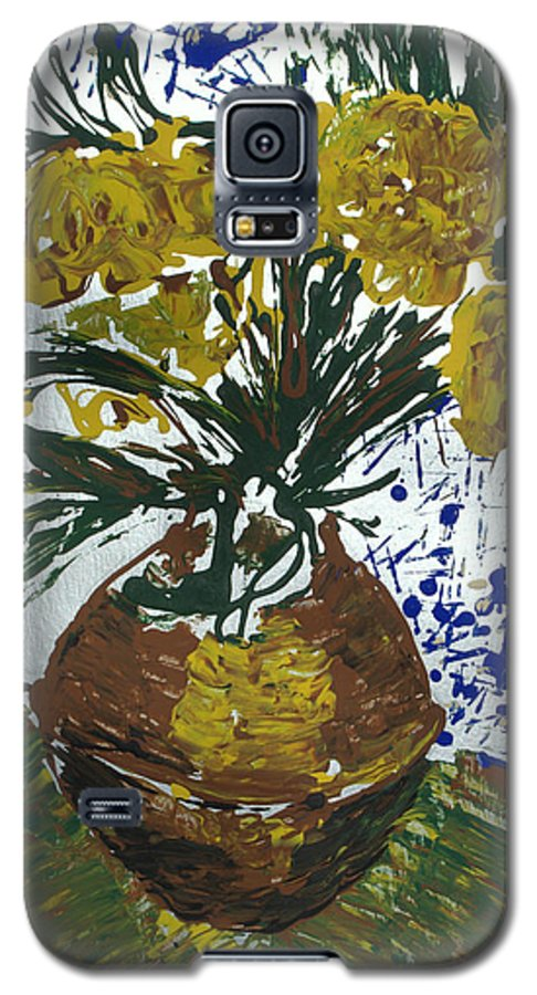 Flowers Galaxy S5 Case featuring the painting Van Gogh by J R Seymour