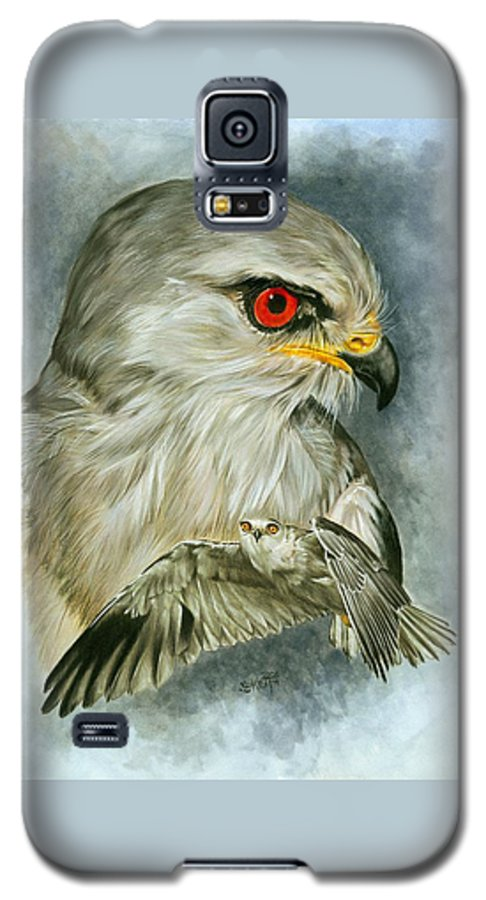 Kite Galaxy S5 Case featuring the mixed media Velocity by Barbara Keith