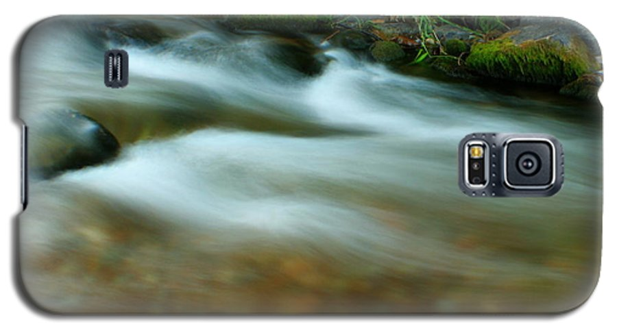 River Galaxy S5 Case featuring the photograph Velvet River by Idaho Scenic Images Linda Lantzy