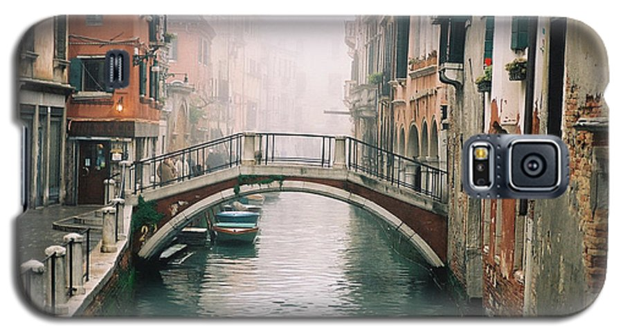 Venice Galaxy S5 Case featuring the photograph Venice Canal II by Kathy Schumann