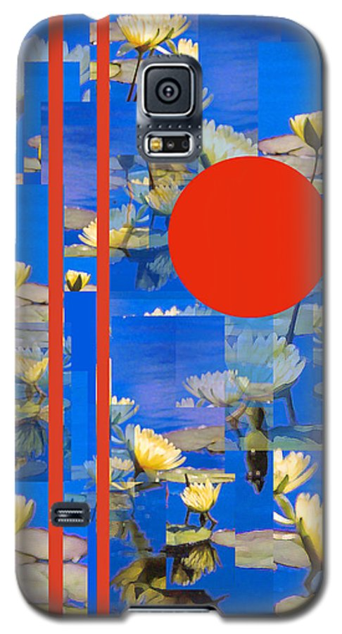 Flowers Galaxy S5 Case featuring the photograph Vertical Horizon by Steve Karol