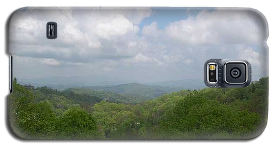 Mountains Galaxy S5 Case featuring the photograph View From Ober Gatlinburg by Barb Montanye Meseroll