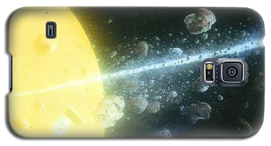 Spacescape Galaxy S5 Case featuring the painting View Master by A Robert Malcom