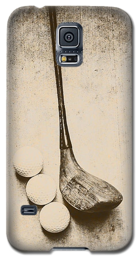 Vintage Galaxy S5 Case featuring the photograph Vintage Golf Artwork by Jorgo Photography - Wall Art Gallery