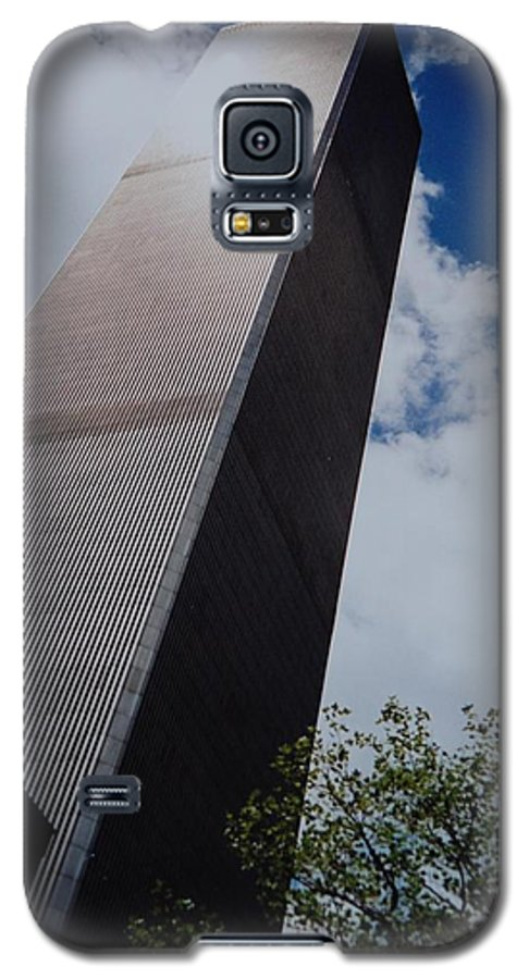 Wtc Galaxy S5 Case featuring the photograph W T C 1 And 2 by Rob Hans