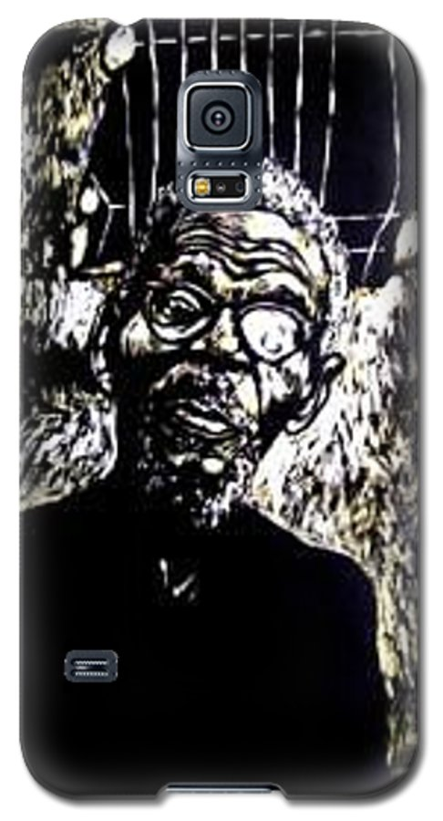Galaxy S5 Case featuring the mixed media Walimu Wally by Chester Elmore