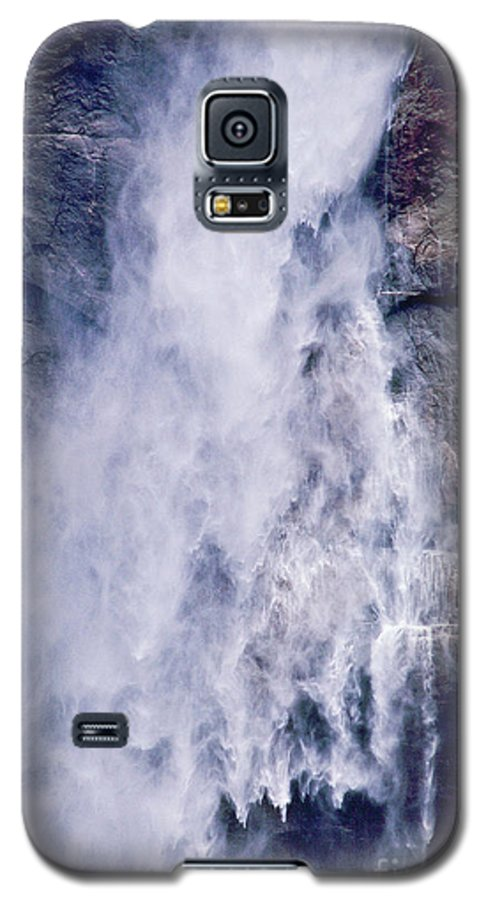 Waterfall Galaxy S5 Case featuring the photograph Water Drops by Kathy McClure