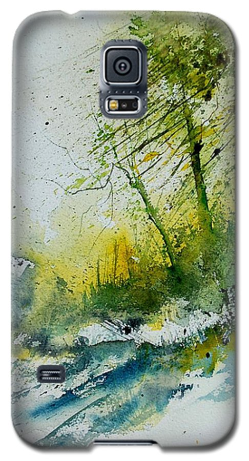 River Galaxy S5 Case featuring the painting Watercolor 181207 by Pol Ledent